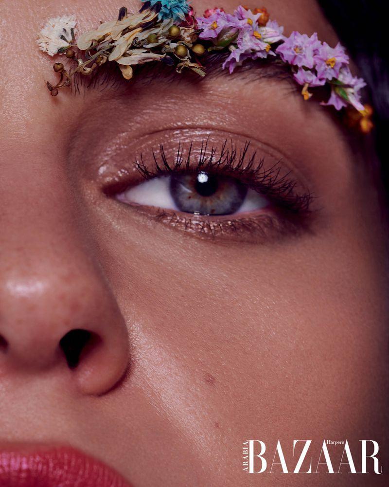 Lauren Auerbach para a Harper's Bazaar Arabia