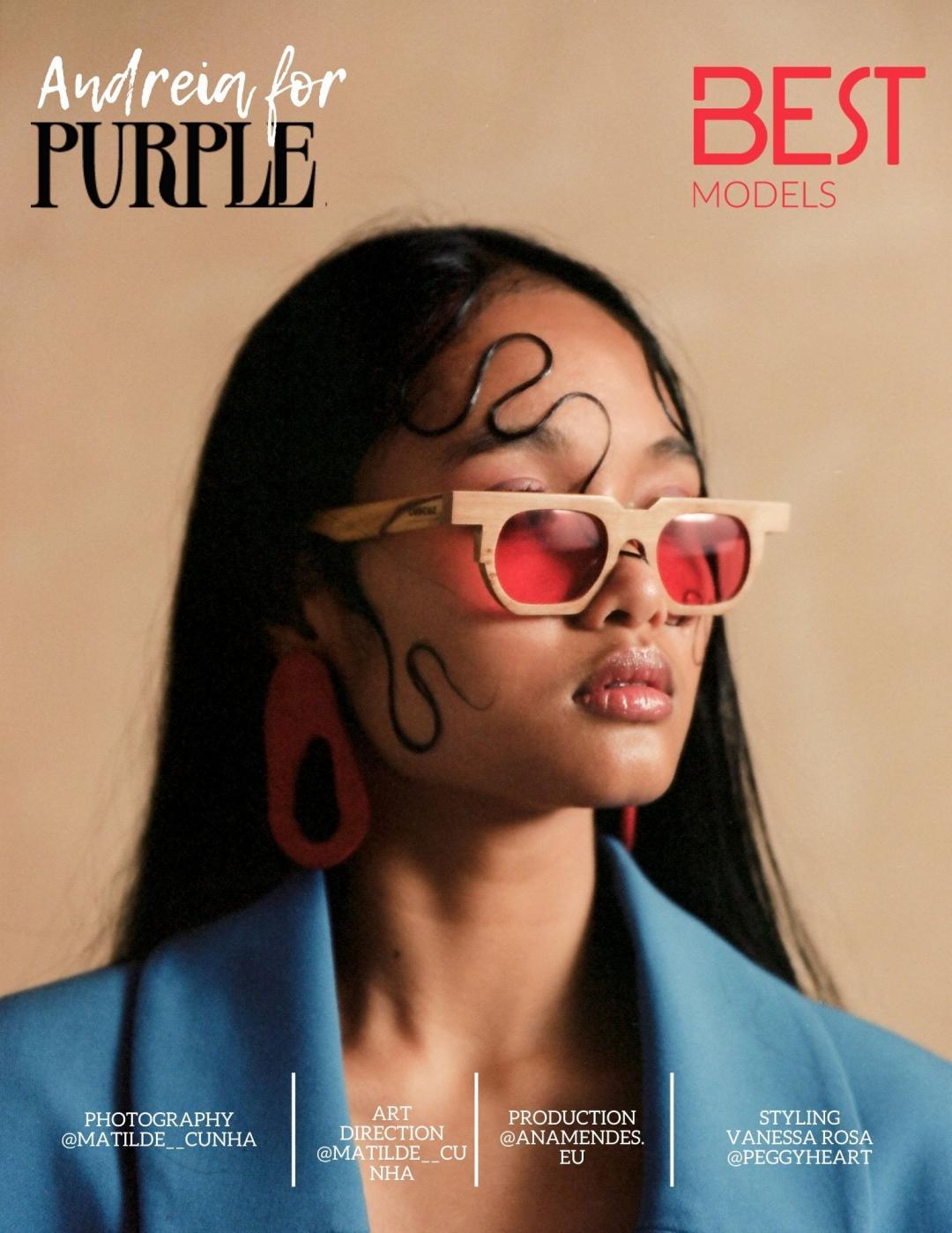 Andreia for Purple Haze Magazine